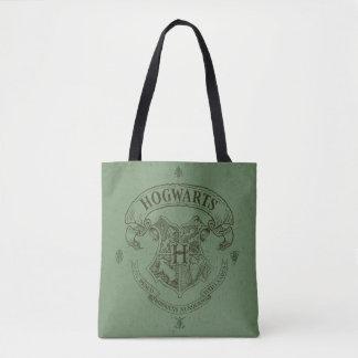 ハリー・ポッターシリーズ| Hogwartsの旗の頂上 トートバッグ