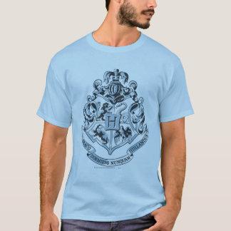 ハリー・ポッターシリーズ  Hogwartsの頂上の青 Tシャツ