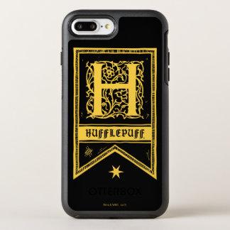 ハリー・ポッターシリーズ| Hufflepuffのモノグラムの旗 オッターボックスシンメトリーiPhone 8 Plus/7 Plusケース
