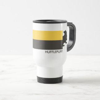 ハリー・ポッターシリーズ| Hufflepuffの家のプライドのグラフィック トラベルマグ