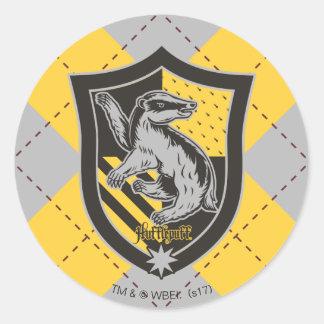 ハリー・ポッターシリーズ| Hufflepuffの家のプライドの頂上 ラウンドシール
