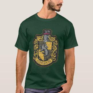 ハリー・ポッターシリーズ| Hufflepuffの頂上パッチ Tシャツ