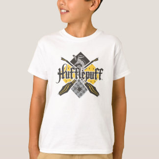 ハリー・ポッターシリーズ  Hufflepuff Quidditchの頂上 Tシャツ