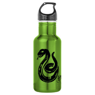 ハリー・ポッターシリーズ| Slytherinのヘビアイコン ウォーターボトル