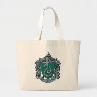 ハリー・ポッターシリーズ| Slytherinの頂上の緑 ラージトートバッグ