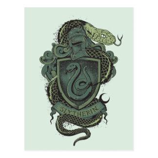 ハリー・ポッターシリーズ| Slytherinの頂上 ポストカード