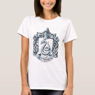 ハリー・ポッターシリーズ| Slytherinの頂上-淡青色 Tシャツ