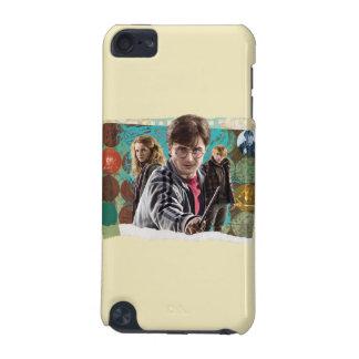 ハリー、HermioneおよびRon 1 iPod Touch 5G ケース