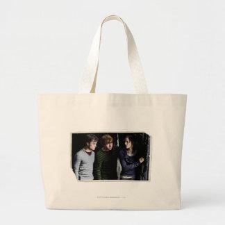 ハリー、RonおよびHermione 4 ラージトートバッグ