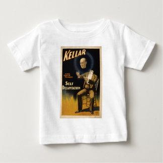 ハリーKellar -自己の斬首のトリック手品師 ベビーTシャツ