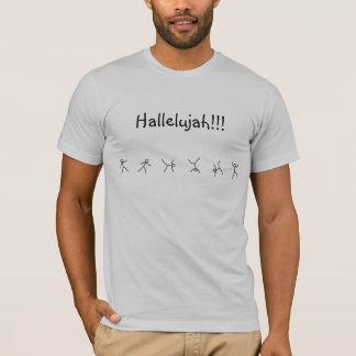 ハレルヤ聖歌の車輪 Tシャツ
