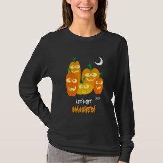 ハロウィンのおもしろいなワイシャツ。 Tシャツ