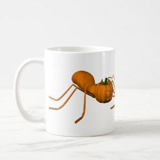 ハロウィンのおもしろいな蟻 コーヒーマグカップ