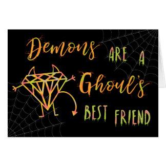 ハロウィンのおもしろいな鬼は悪鬼の親友です カード