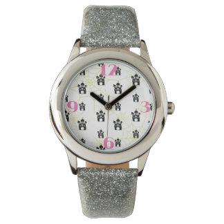 ハロウィンのお化け屋敷のノベルティの腕時計 腕時計