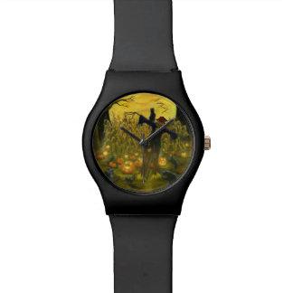 ハロウィンのかかしの腕時計 腕時計