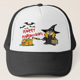 ハロウィンのかわいい魔法使いの帽子 キャップ