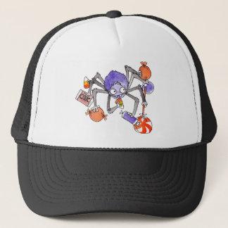 ハロウィンのくもの帽子 キャップ