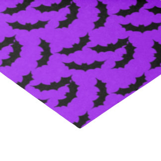 ハロウィンのこうもりパターンティッシュペーパー 薄葉紙