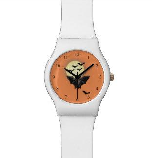 ハロウィンのこうもり 腕時計