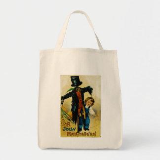 ハロウィンのすてきなかかし トートバッグ