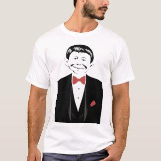 ハロウィンのためのFarkleのTシャツを身に着けているタキシード! Tシャツ