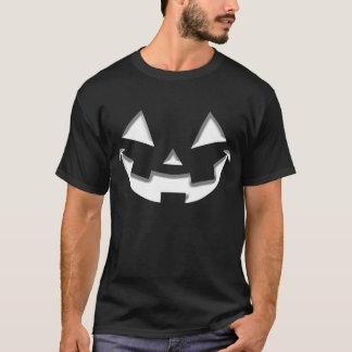 ハロウィンのにこやかな白 Tシャツ