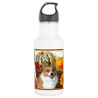 ハロウィンのウェルシュコーギー犬 ウォーターボトル