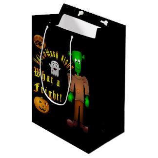 ハロウィンのカスタムのギフトバッグ ミディアムペーパーバッグ