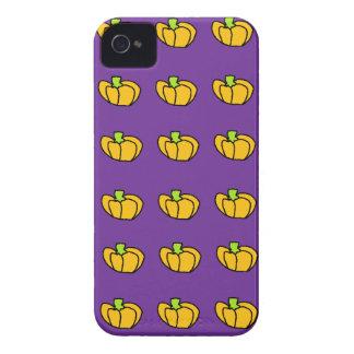 ハロウィンのカボチャパターン Case-Mate iPhone 4 ケース
