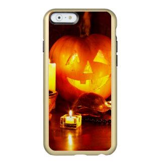 ハロウィンのカボチャランタン INCIPIO FEATHER SHINE iPhone 6ケース