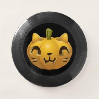 ハロウィンのカボチャ猫 Wham-Oフリスビー