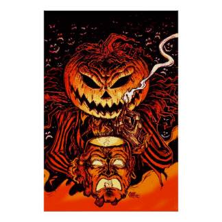 ハロウィンのカボチャ王 ポスター
