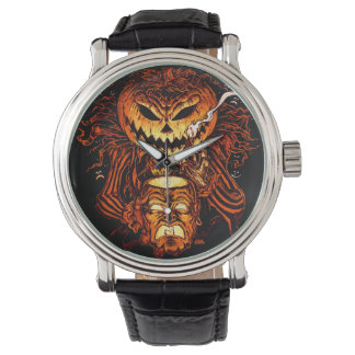ハロウィンのカボチャ王 腕時計
