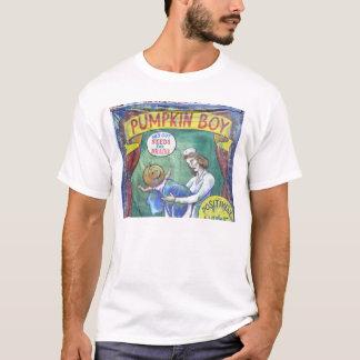 ハロウィンのカボチャ男の子のSidewshowのTシャツ Tシャツ