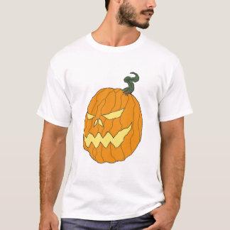 ハロウィンのカボチャ芸術のTシャツ Tシャツ