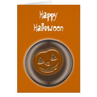 ハロウィンのカボチャ、ジャックO'Lantern カード