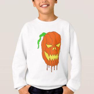 ハロウィンのカボチャ スウェットシャツ