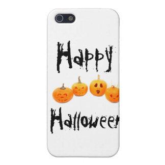 ハロウィンのカボチャ iPhone SE/5/5sケース
