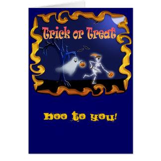 ハロウィンのカードおよび郵便はがき! カード
