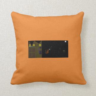 ハロウィンのクールな枕 クッション