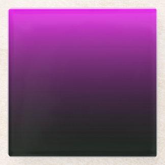 ハロウィンのゴシック様式真夜中 ガラスコースター