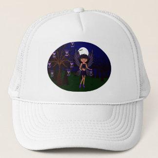 ハロウィンのゴシック様式Faeryのワタリガラスは帽子を神聖化します キャップ