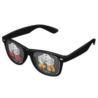 ハロウィンのサングラス レトロサングラス