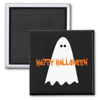 ハロウィンのシンプルな幽霊 マグネット