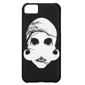 ハロウィンのスカルの髭3 iPhone5Cケース