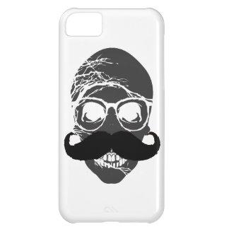 ハロウィンのスカルの髭 iPhone5Cケース