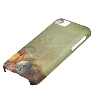 ハロウィンのスカルのiPhone 5cケース iPhone5Cケース