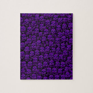 ハロウィンのスカル ジグソーパズル