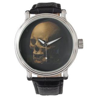 ハロウィンのスカル 腕時計